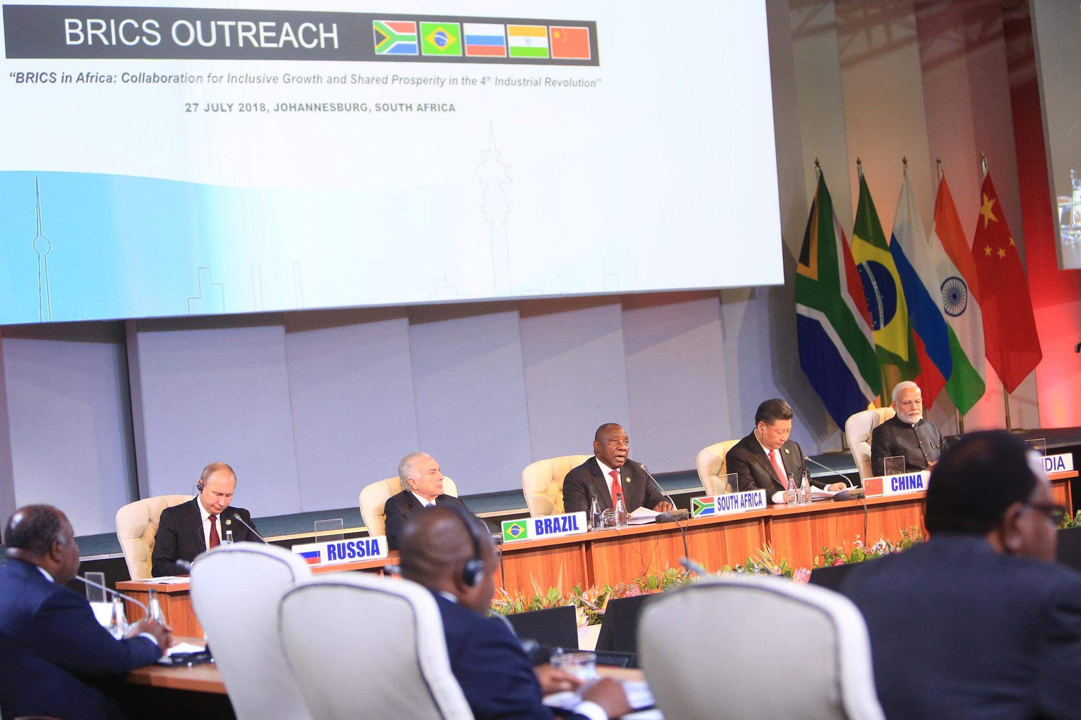 Séance de dialogue BRICS-Afrique