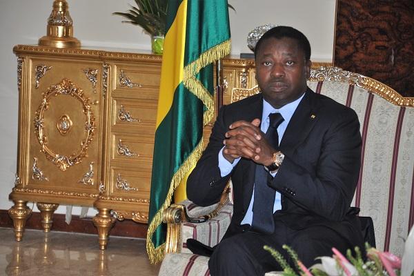 le chef de l'Etat SEM Faure E. Gnassingbé