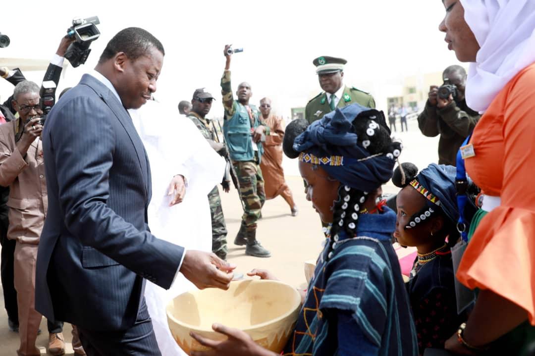 arrivée du chef de l'Etat au Niger