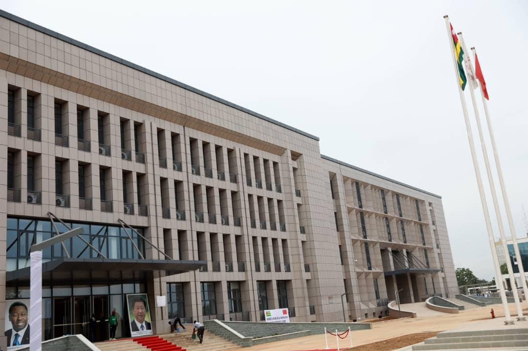 nouveau centre administratif des services de Lomé