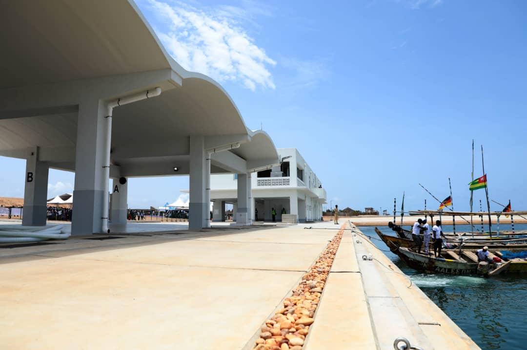 Nouveau port de pêche de Gbétsogbé