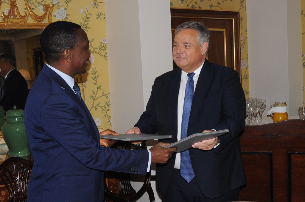Signature de la lettre d'intention Togo-Agility