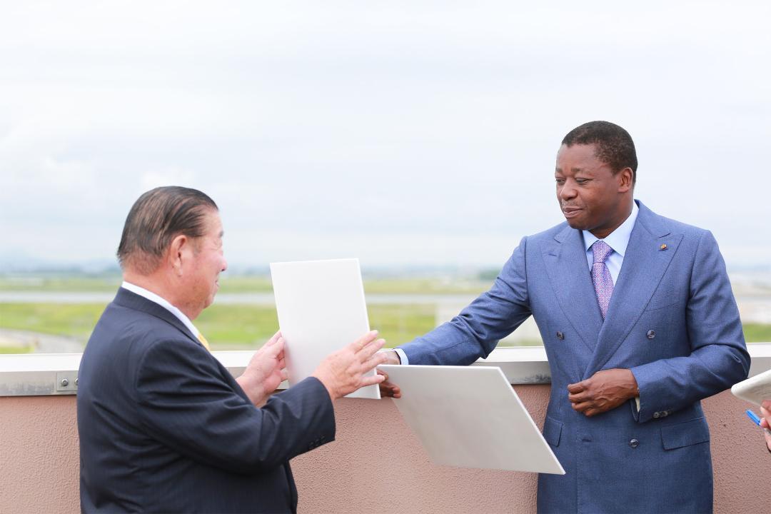 Le Togo renouvelle sa sympathie à Watari cho
