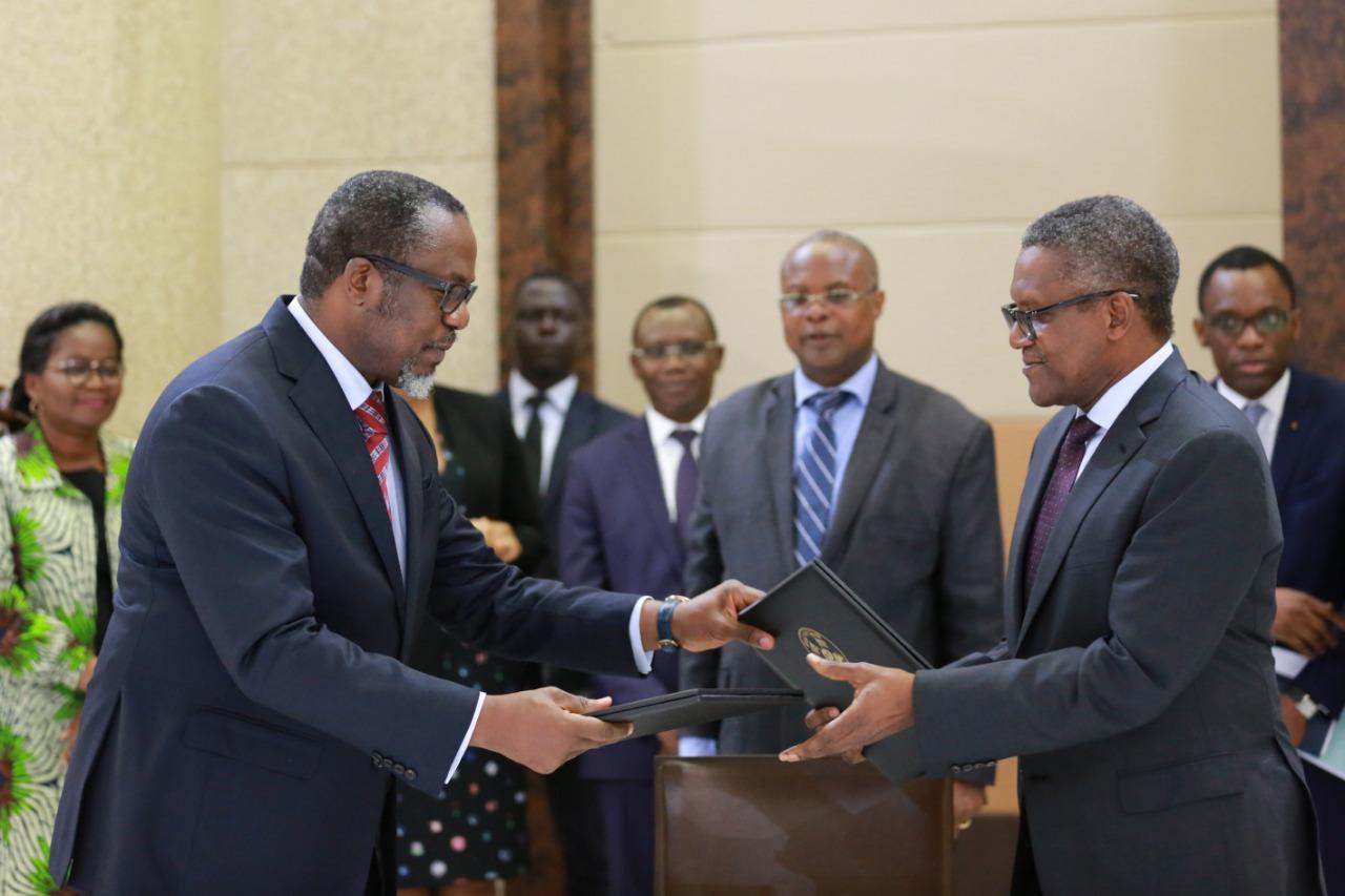 Partenariat public-privé : deux nouveaux accords avec Dangote group
