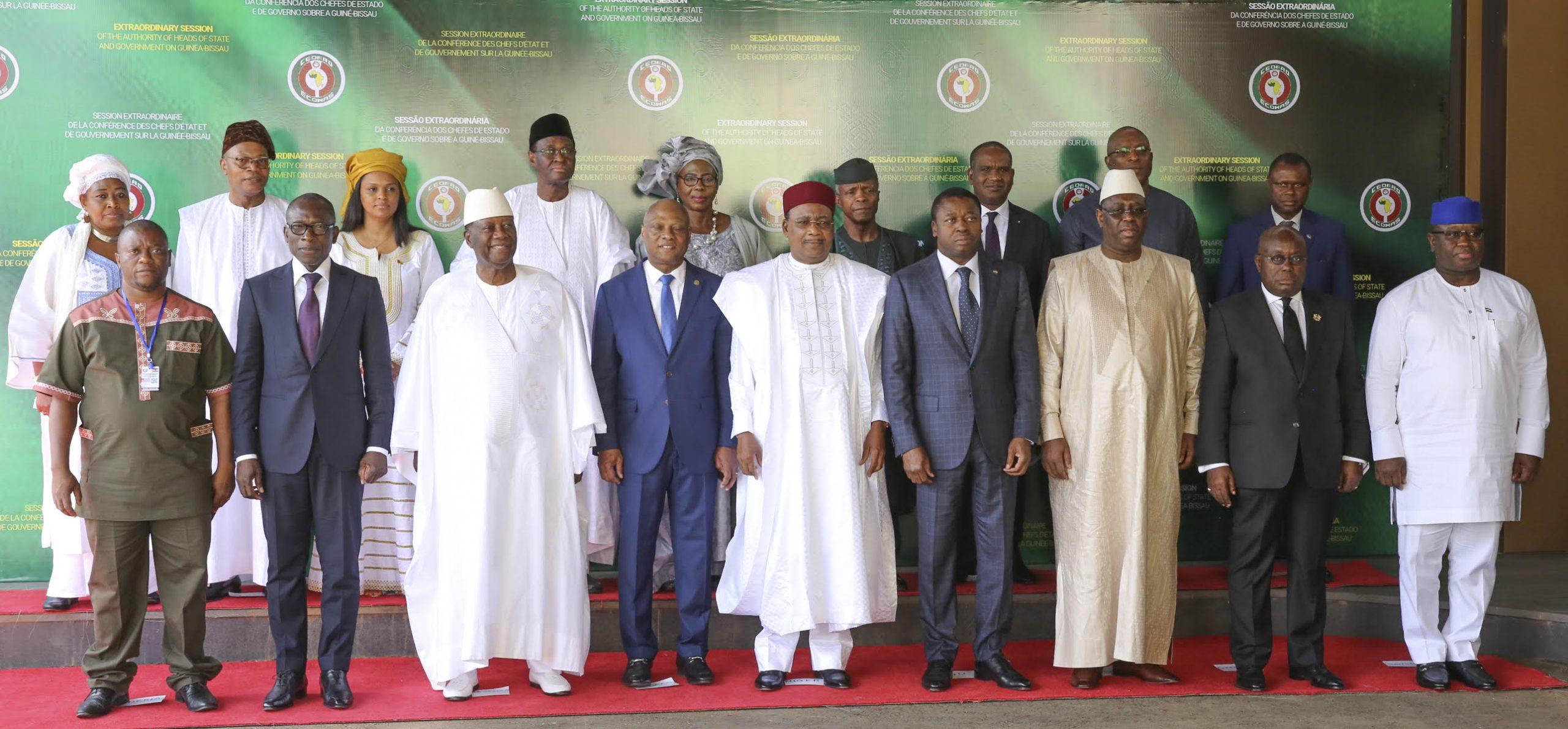 sommet extra CEDEAO à Niamey 08 nov 2019